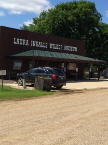 Exterior of the museum in Walnut Grove, MN. (Katherine Hart, 2014)