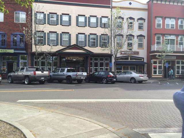 A little peek of downtown Windsor (Katherine Hart, 2015)