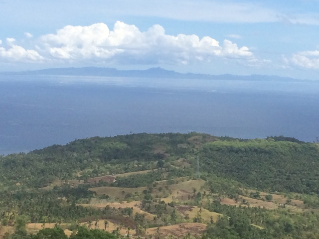 View from mountain top outside Baybay (Katherine Hart, 2015)