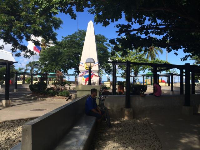 Central Plaza, Baybay (Katherine Hart 2015)