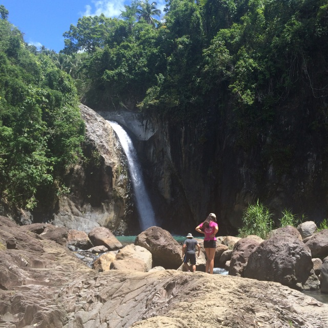 Waterfall, Biliran (Katherine Hart, 2015)